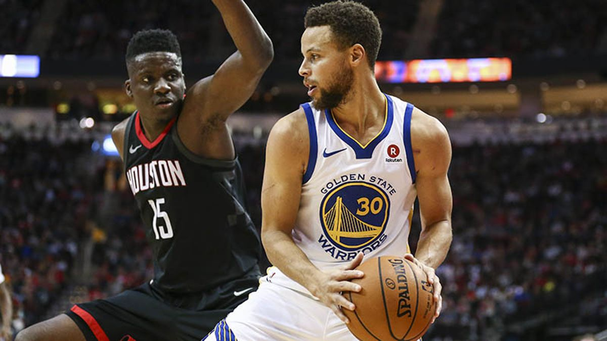 Biggest Matchup in Warriors-Rockets: Curry vs. Capela on the Switch article feature image