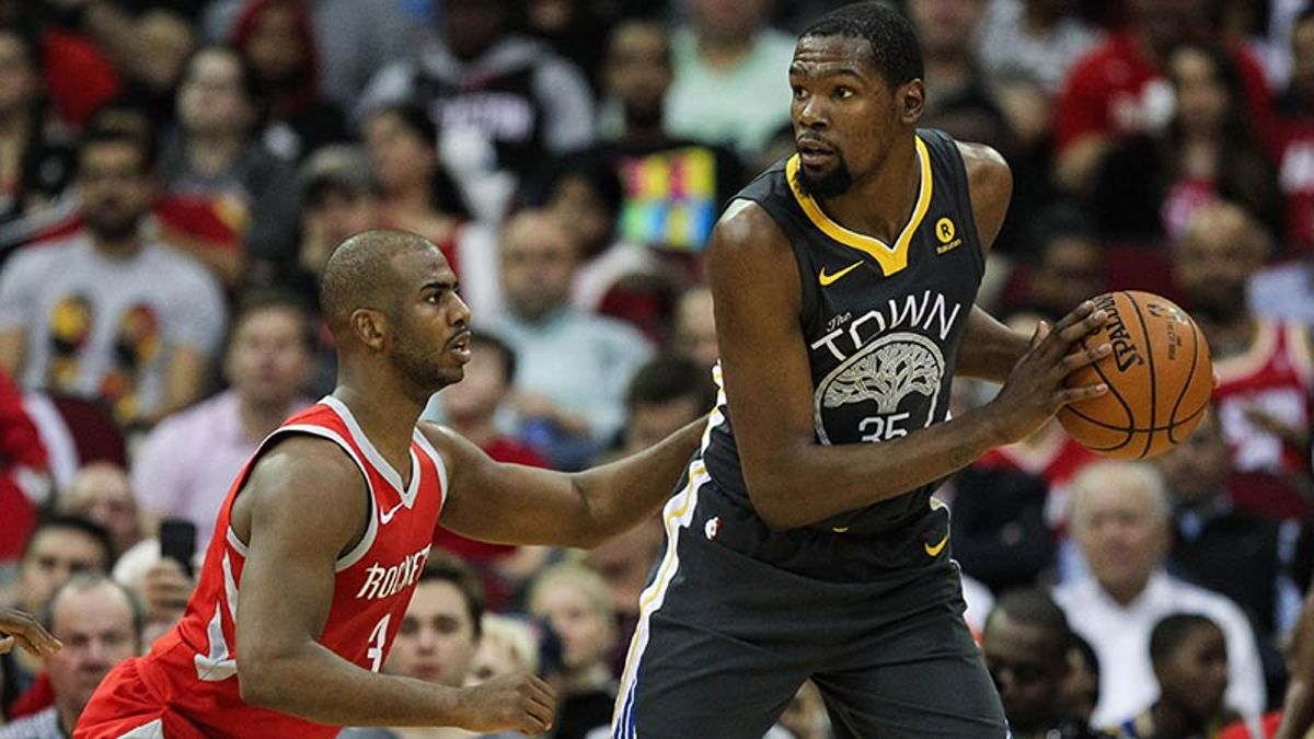 Why the Rockets Shouldn't Worry About Matching Up With Kevin Durant article feature image