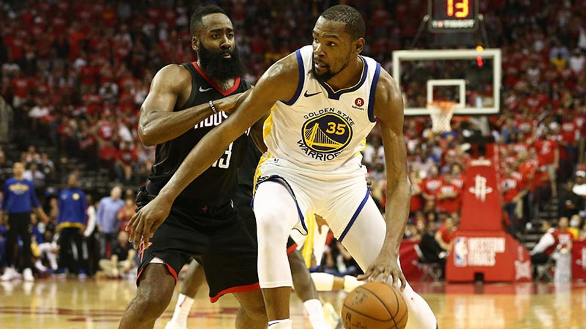 Locky: Why I'm Not Betting Warriors-Rockets Game 2 article feature image