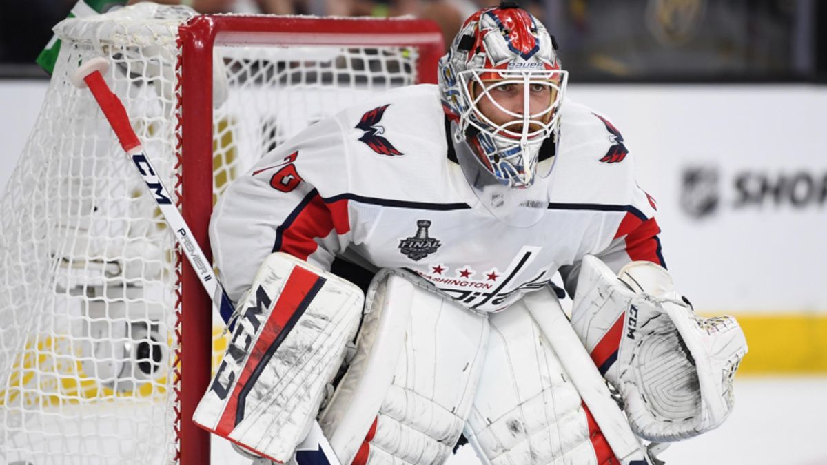 Braden Holtby Saves Caps and Under Bettors in Epic Fashion article feature image