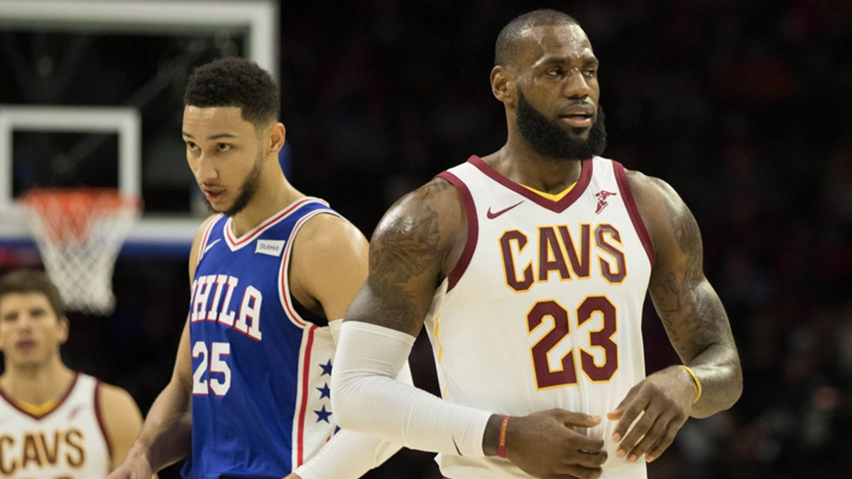 Betting Odds Suggest 76ers New Favorites to Land LeBron James article feature image