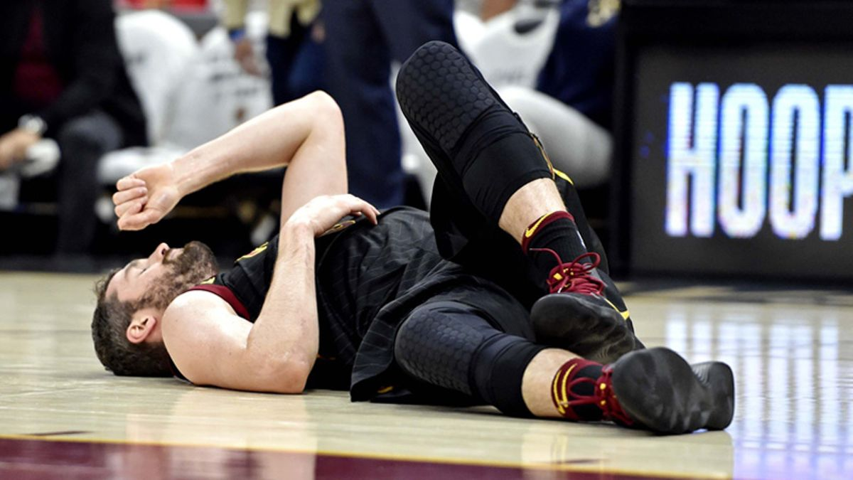 Kevin Love's Return Having Little Effect on Game 1 Betting Line article feature image