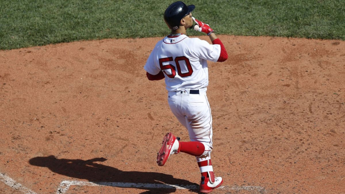 Betts Moves to New AL MVP Favorite in Las Vegas article feature image