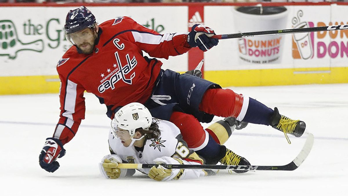 Stanley Cup: The Golden Knights Open As Favorites Over the Capitals article feature image