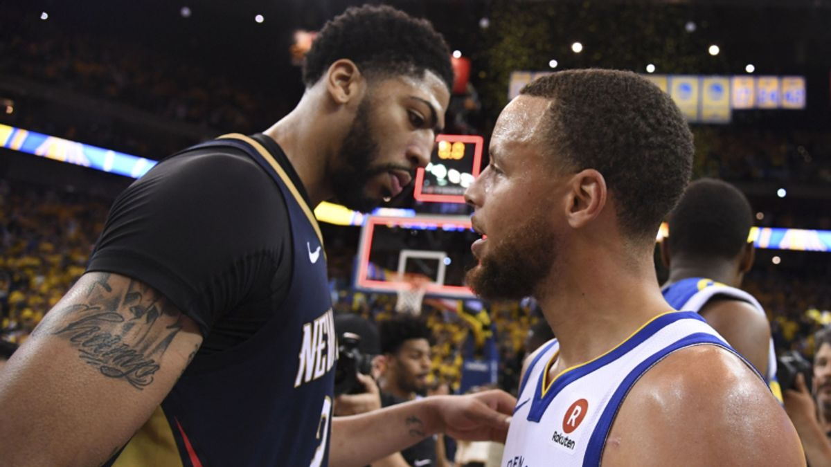 The Night Sweats: Pelicans Pull Off Improbable Cover Against Warriors article feature image