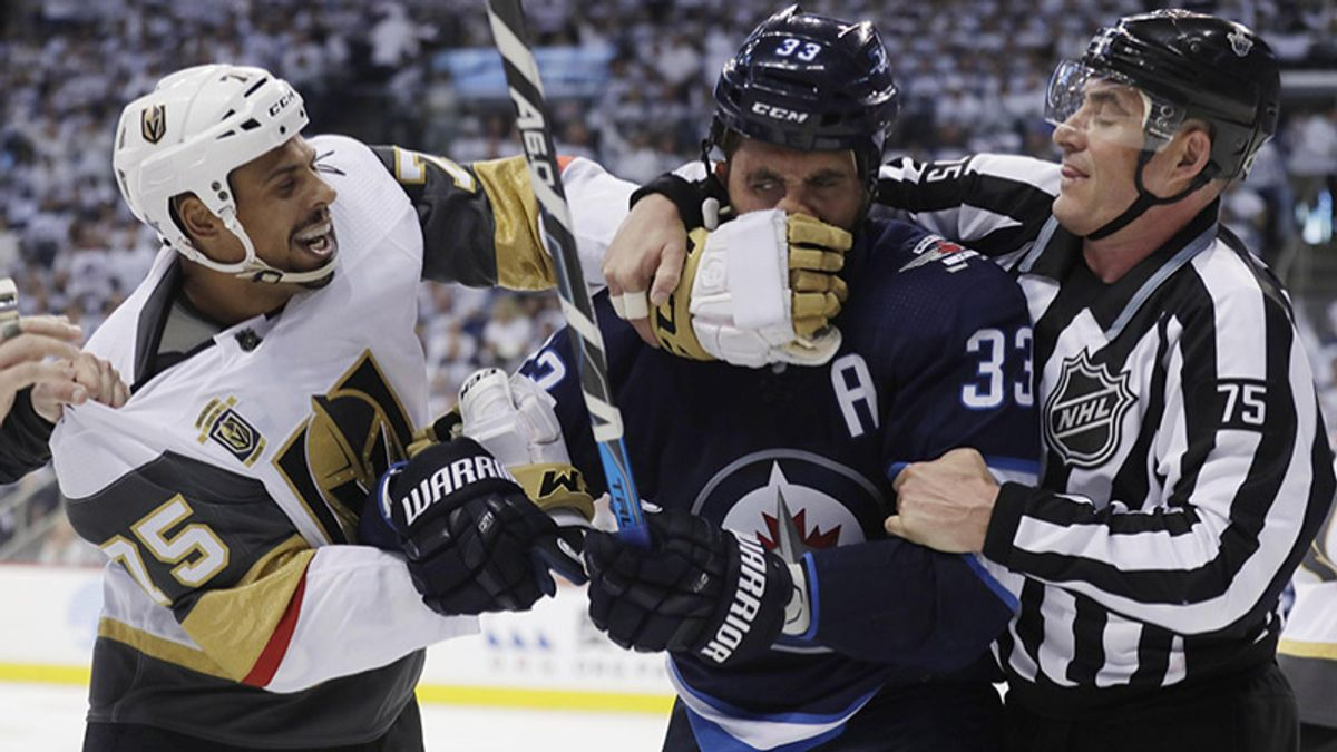 NHL Playoffs: Exploring Betting Angles for Golden Knights vs. Jets article feature image