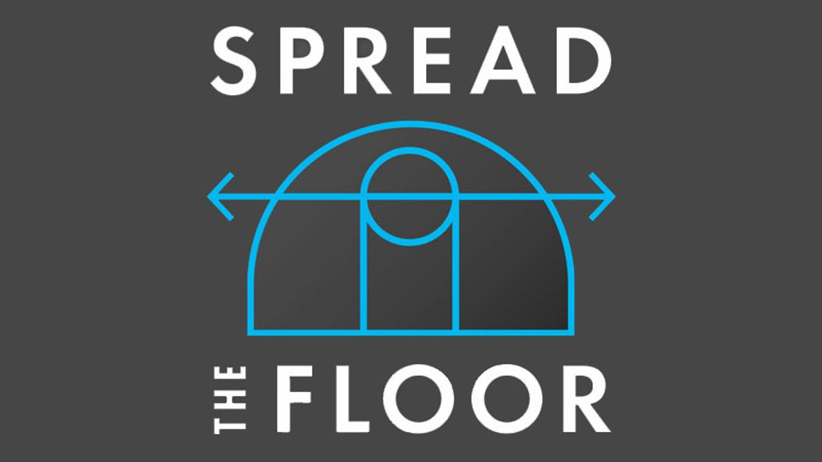 Spread the Floor: The First NBA Beat with Gina Mizell of the Denver Post article feature image