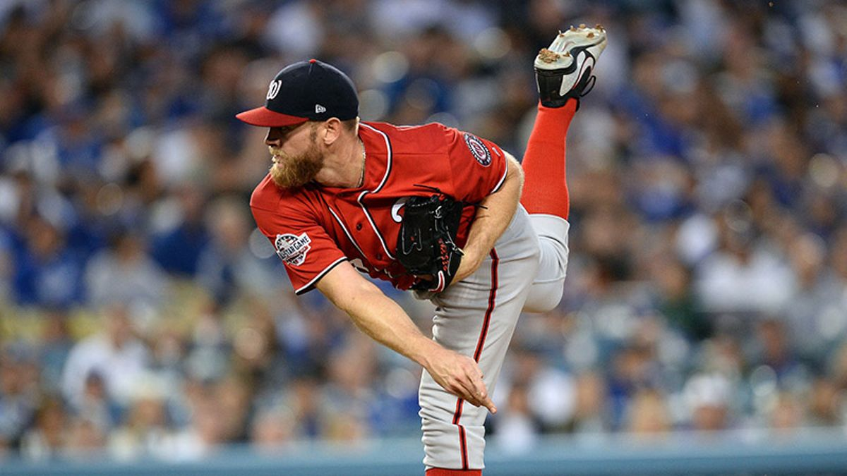 Nationals-Dodgers Trends, Stats: Stephen Strasburg Is a Rare Home Underdog article feature image