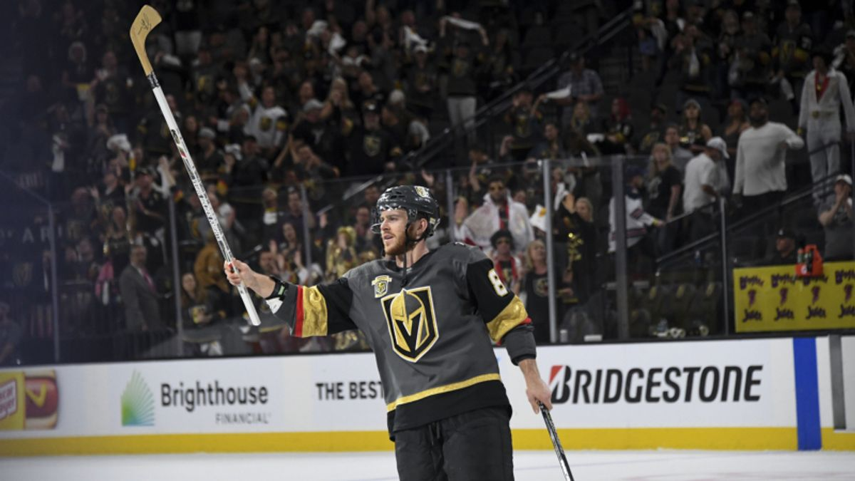 Last-Second, Empty-Net Goal Busts Game 3 Under in Vegas article feature image