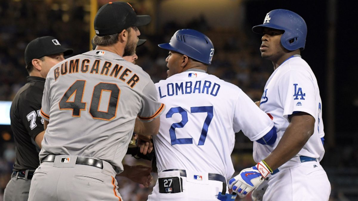 Giants-Dodgers Betting Preview: Bumgarner and Puig Resume Rivalry article feature image