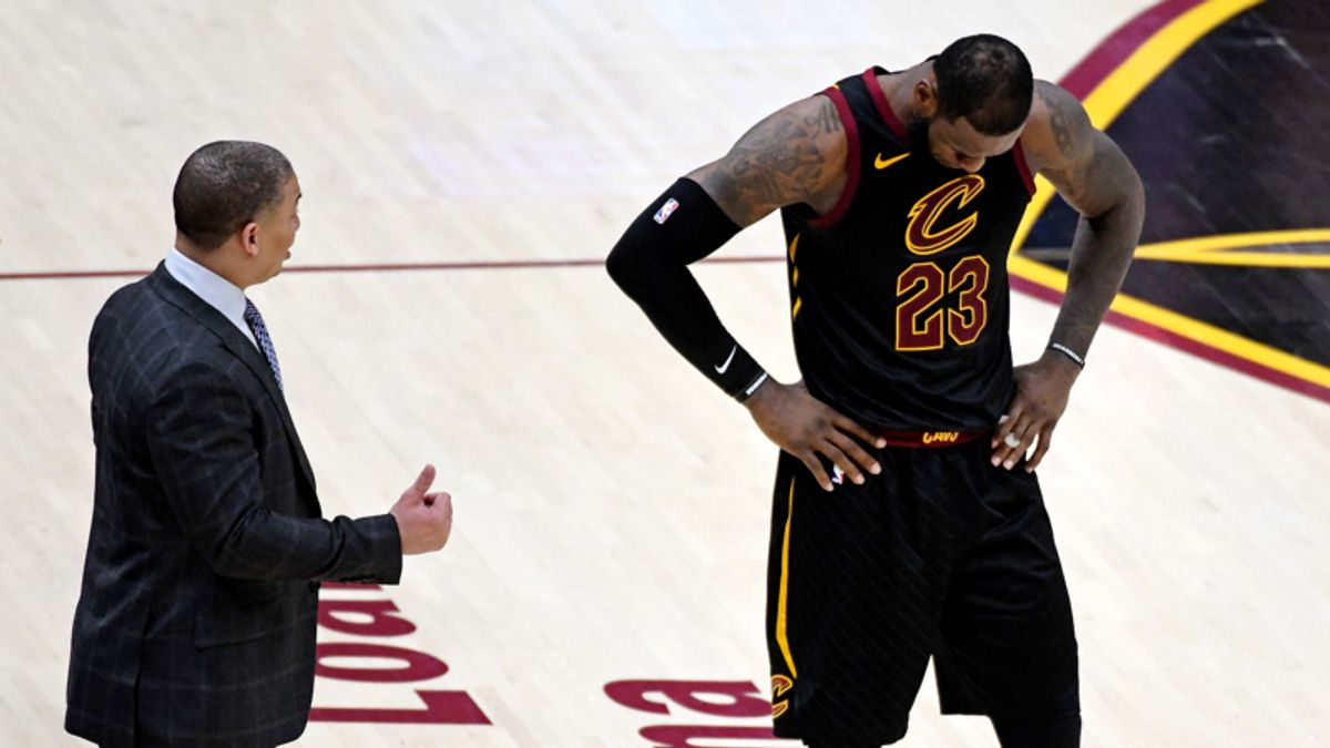 The Angles: LeBron's Last Game in Cleveland? article feature image