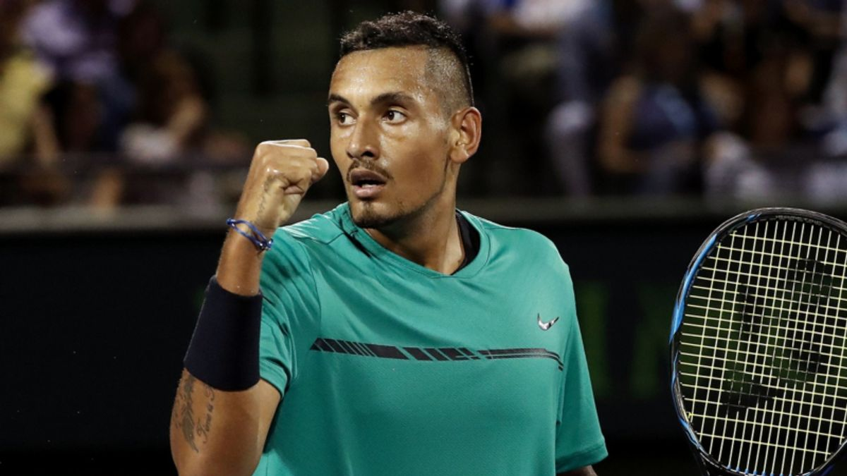 Saturday ATP Betting: Can Nick Kyrgios Keep it Rolling Against Top Tier? article feature image