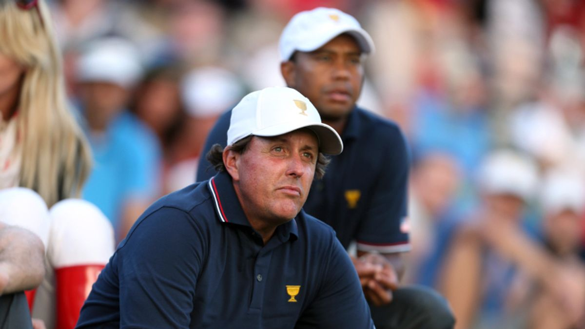 Tiger vs. Phil: Tracking a (Fictional) Skins Game at the U.S. Open article feature image