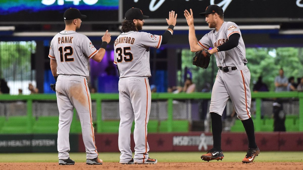 Astros, Giants Lead Monday's Most Popular MLB Bets article feature image