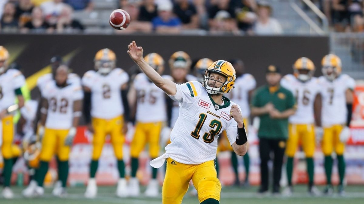 Should CFL Bettors Follow the Crowd in Thursday's Winnipeg-Edmonton Opener? article feature image