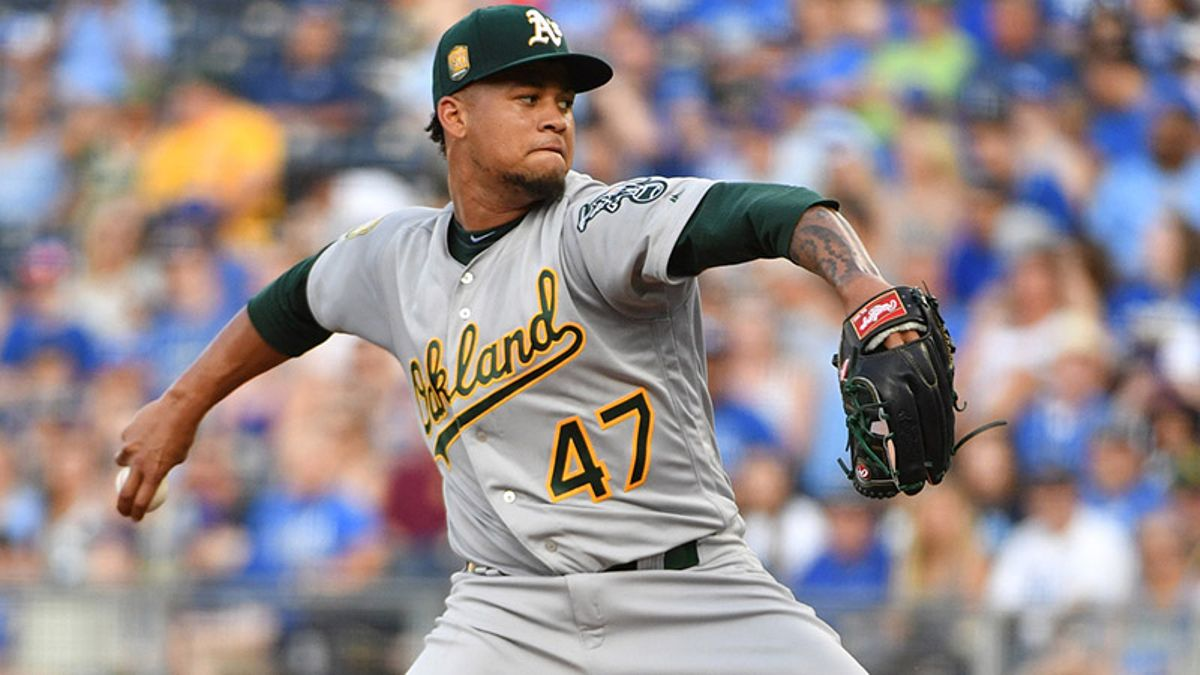 Thursday's MLB Over/Under: Count on an Astros-Athletics Pitching Duel? article feature image