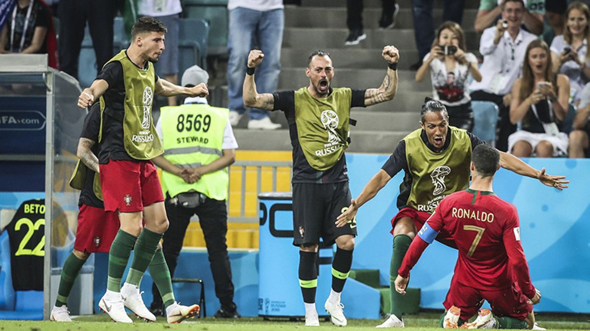 World Cup Day 2 Betting Recap: Ronaldo Hat Trick Lifts Portugal to Shocking Draw With Spain article feature image