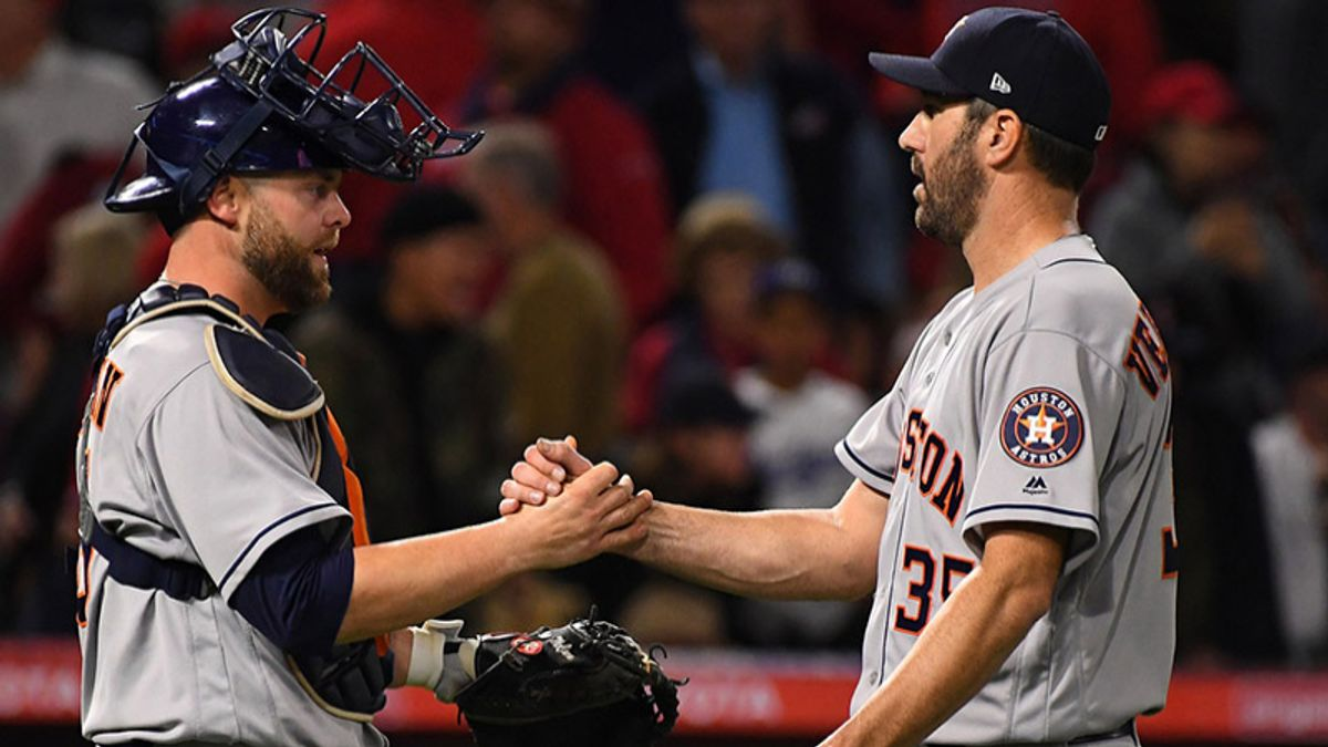 Saturday's MLB Over/Under: Verlander, Price Lock Horns in Houston article feature image