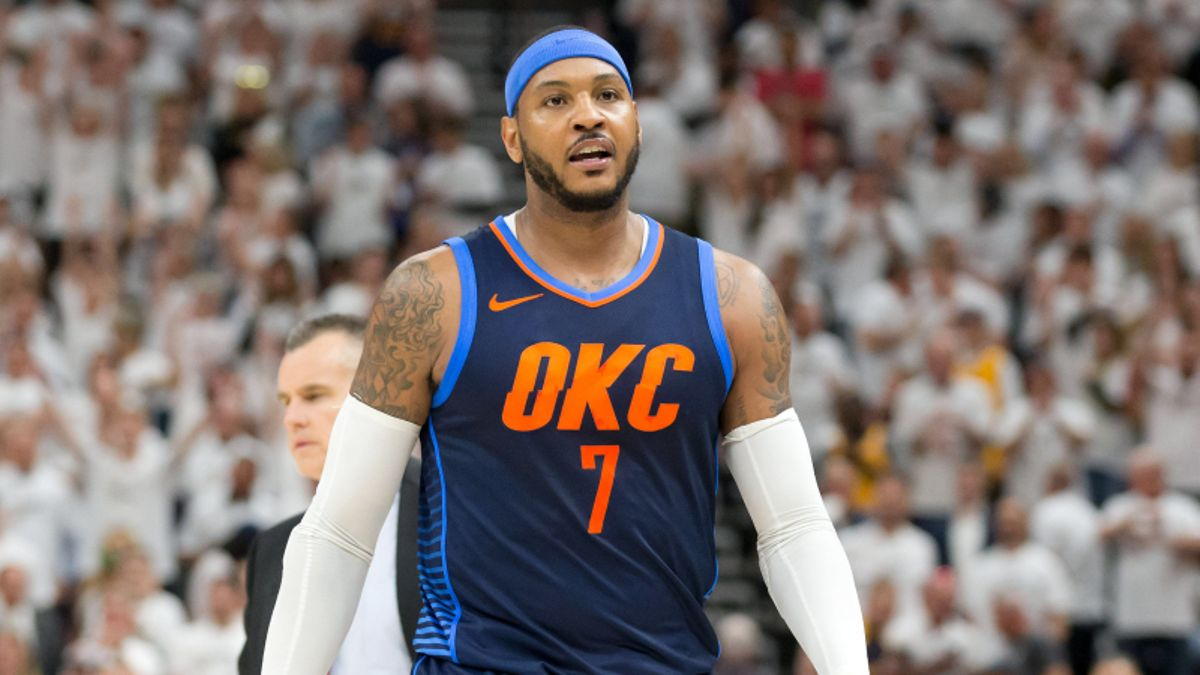 Over/Under: Carmelo Anthony 98.2% Chance to Make the Hall of Fame? article feature image