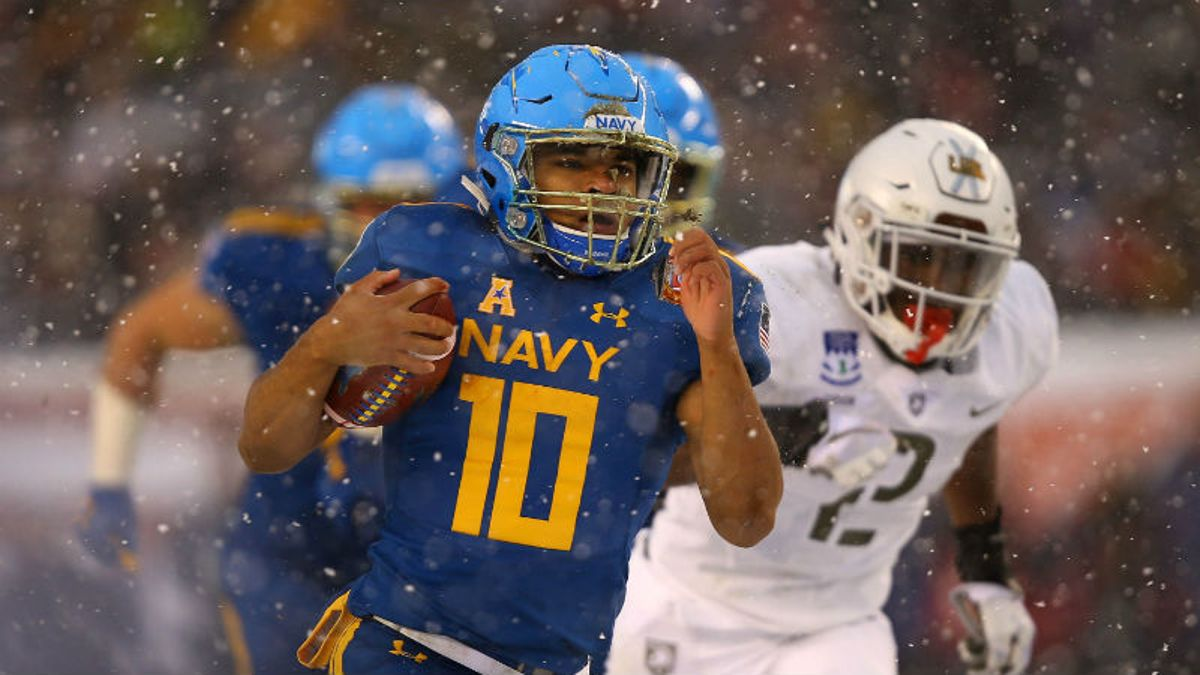 Navy 2018 Betting Preview: QB Malcolm Perry, Midshipmen's Offense the Real Deal article feature image