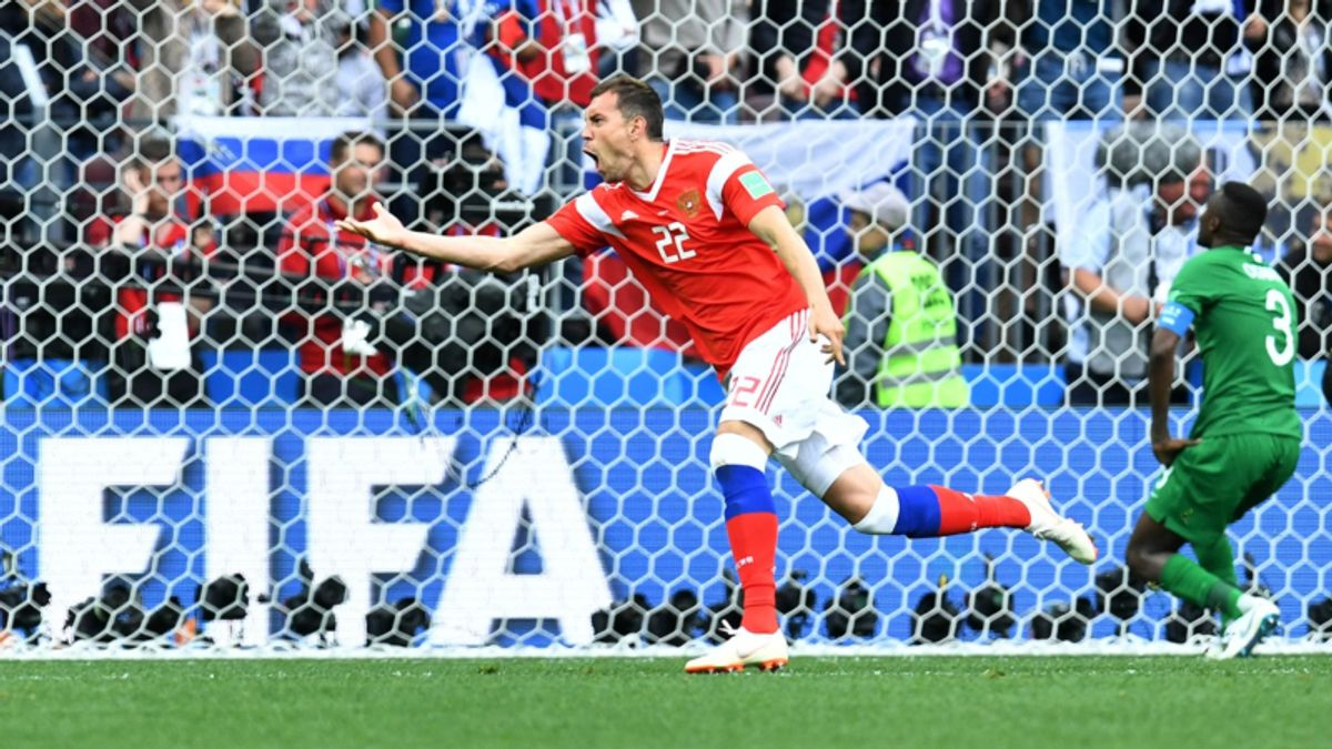 2018 World Cup Betting: Can Hosts Russia Continue Their Dream Run? article feature image