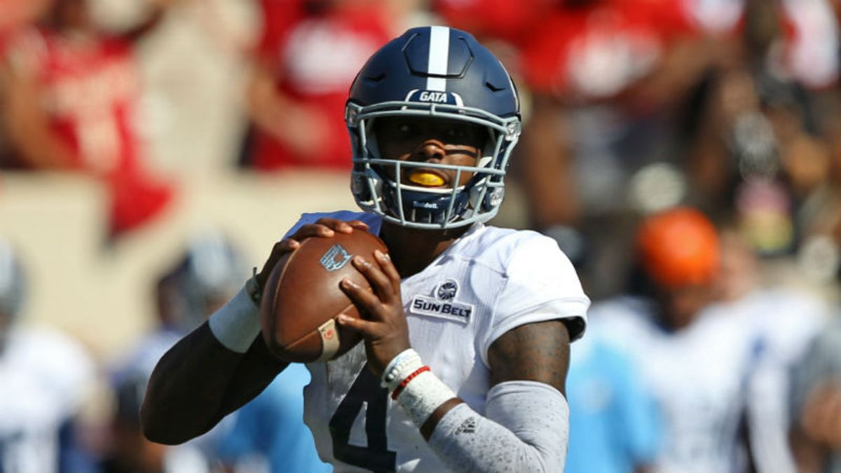 Georgia Southern 2018 Betting Preview: Eagles Have Triple-Option Identity Back article feature image