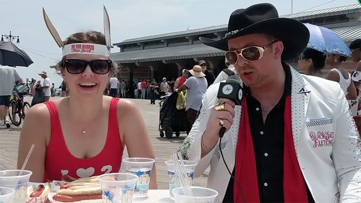 WATCH: BlackJack Fletcher Takes Over the 2018 Hot Dog Contest article feature image