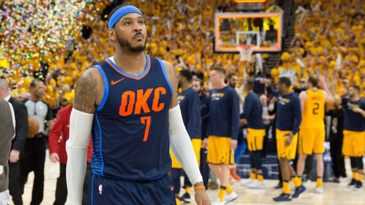 Moore: Thunder Better Off After Trading Away Carmelo Anthony article feature image