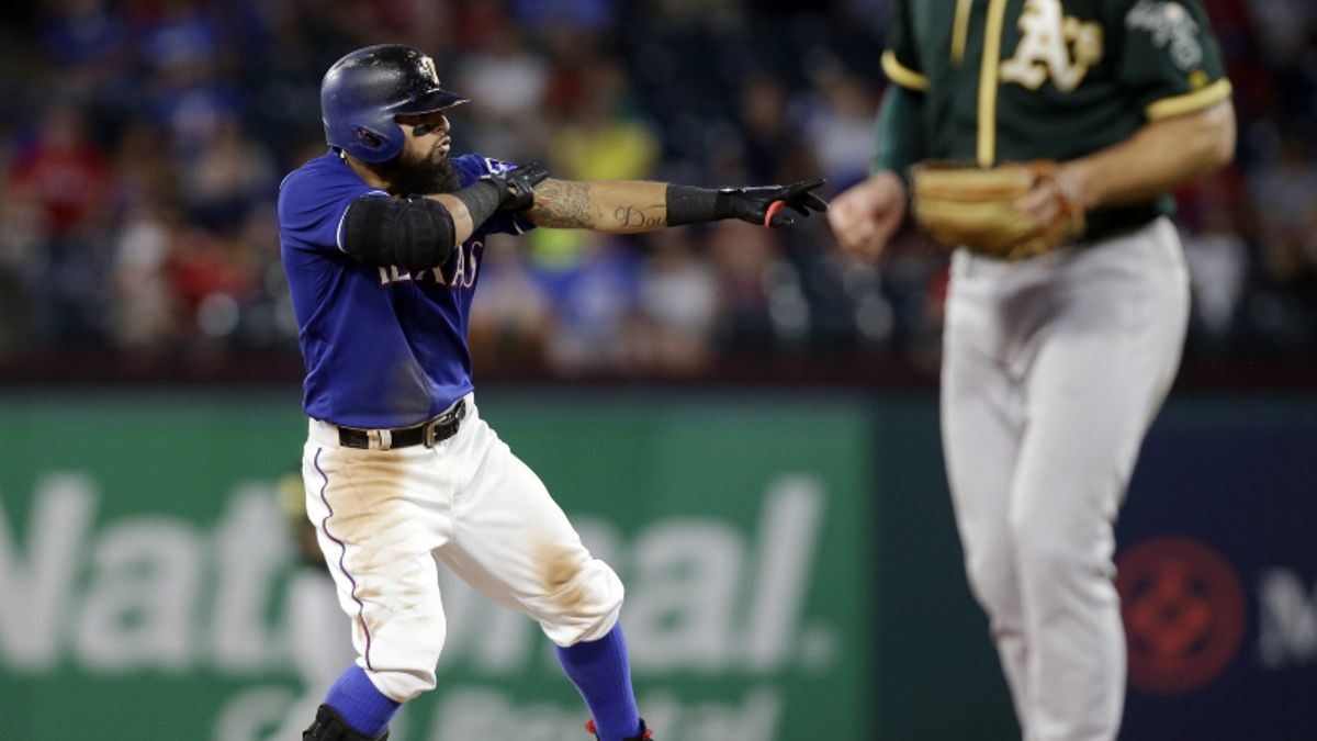 Bad Beat for Rangers Bettors: Texas' Collapse vs. Athletics the MLB's Worst Since 2012 article feature image