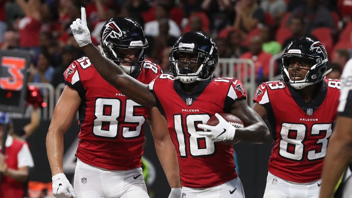 Dolphins vs. Falcons Preseason Betting Odds: Will Calvin Ridley Emerge as Atlanta's WR3? article feature image