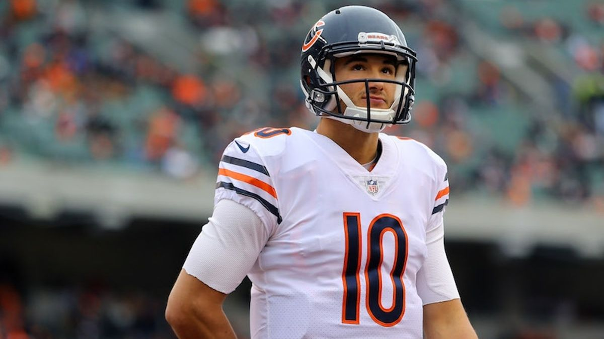 2018 Chicago Bears Betting Odds & Season Preview: Will Mitchell Trubisky Improve Under Matt Nagy? article feature image