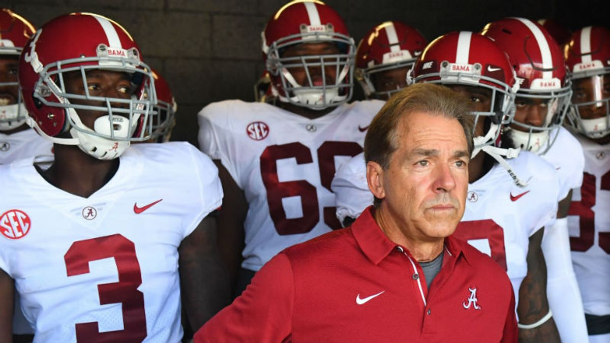 Alabama-Louisville Betting Preview: Trust Saban, Tide in Season Openers article feature image