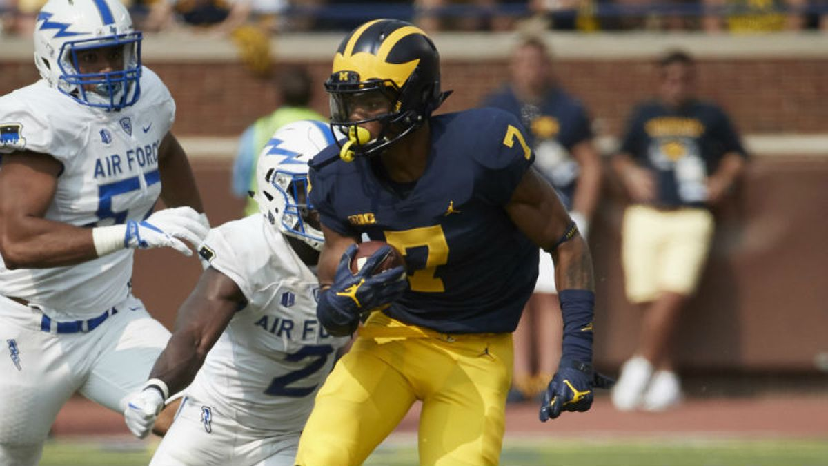 Michigan WR Group Too Deep for Tarik Black Injury to Sway Bettors article feature image