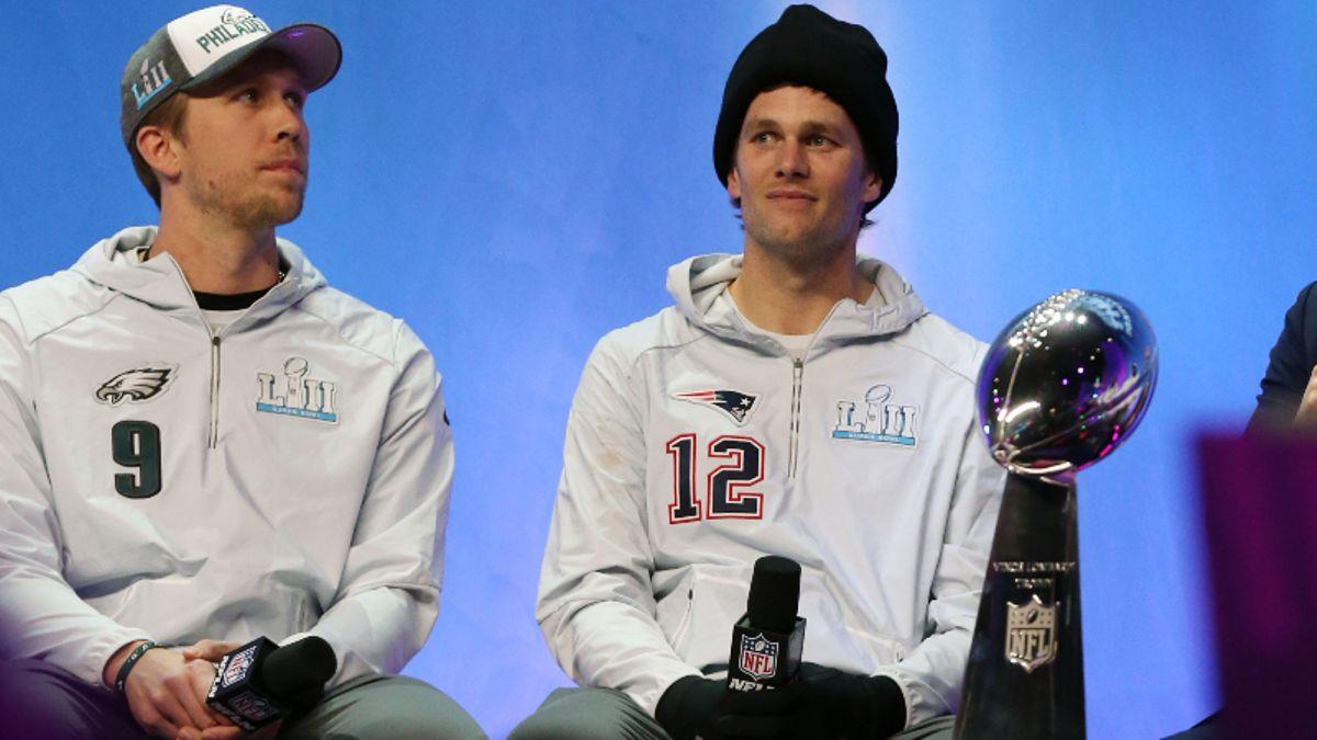 Patriots vs. Eagles Preseason Betting Odds: Brady-Foles in Super Bowl Rematch article feature image