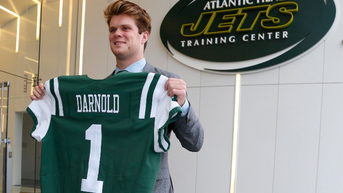 Jets vs. Falcons Preseason Betting Odds: Sam Darnold's Debut article feature image