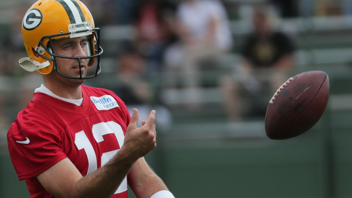 Packers vs. Steelers Preseason Betting Odds: Who is Aaron Rodgers' No. 3 WR? article feature image