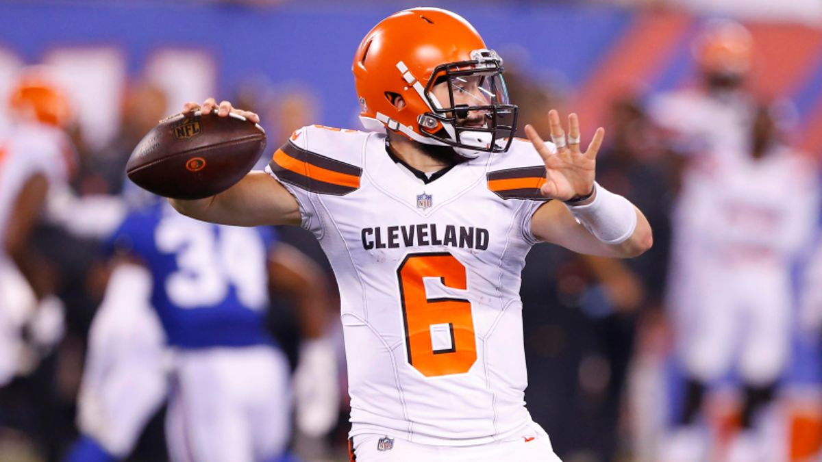 Fantasy Football, Betting Lessons from Thursday's 12 Preseason Games: Baker Mayfield Shines in Debut article feature image