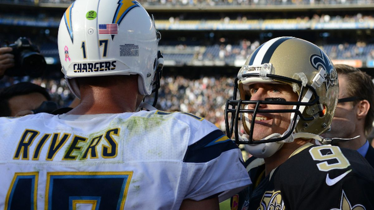 Chargers vs. Saints Preseason Betting Odds: Rivers-Brees Meet in Grudge Match article feature image