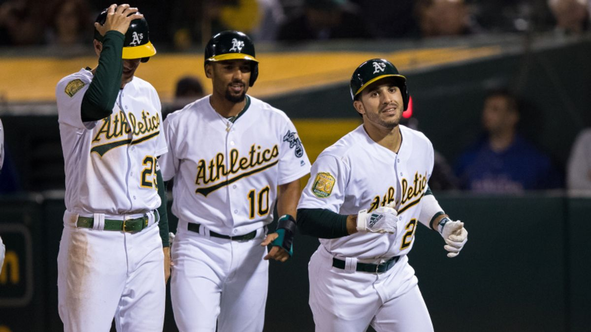 Rays, Athletics Lead MLB's Most Popular Bets Again Tuesday article feature image