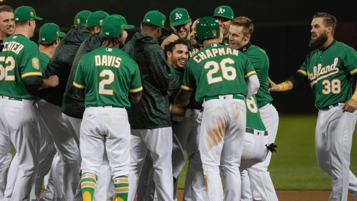 Rays, Athletics Lead Saturday's Most Popular Baseball Bets article feature image