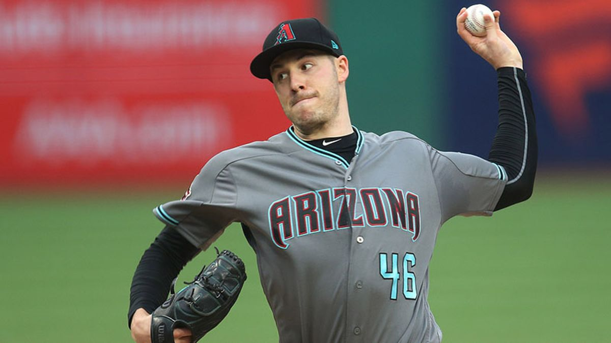 Tuesday's MLB Over/Under: Corbin, D-backs take on Mike Trout-less Angels article feature image