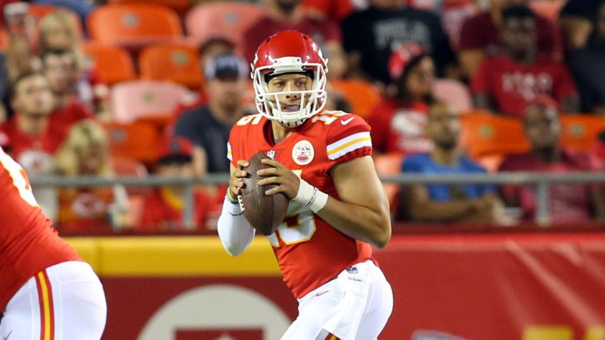 16 Best NFL Season Win Total Bets: Chiefs Have Upside With Patrick Mahomes article feature image