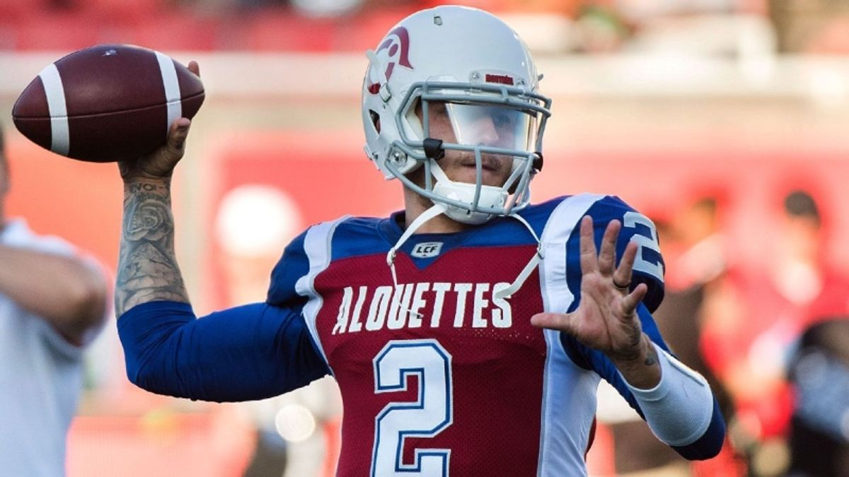 CFL Betting Preview: Is Johnny Manziel Worth a Wager in His First Start? article feature image