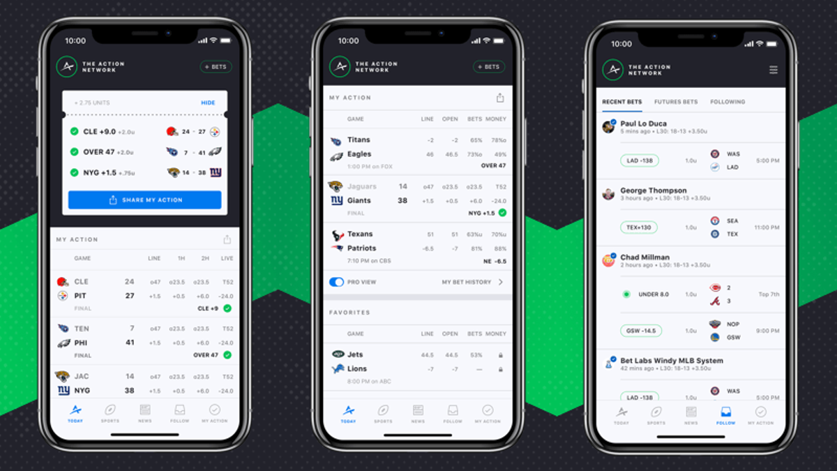 The Action Network: Follow Your Friends' Bets in Our Updated Mobile App article feature image