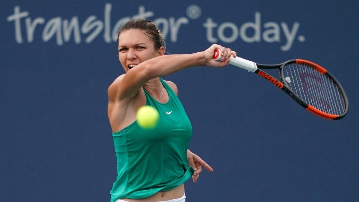WTA Cincinnati Semifinals Betting Preview: Simona Halep Seeks Second Straight Premier Final article feature image