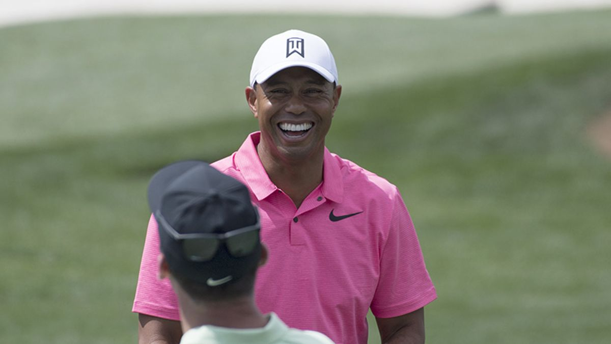 Tiger Woods Is Well Aware He's a Big Favorite Over Phil Mickelson in $9M Match article feature image