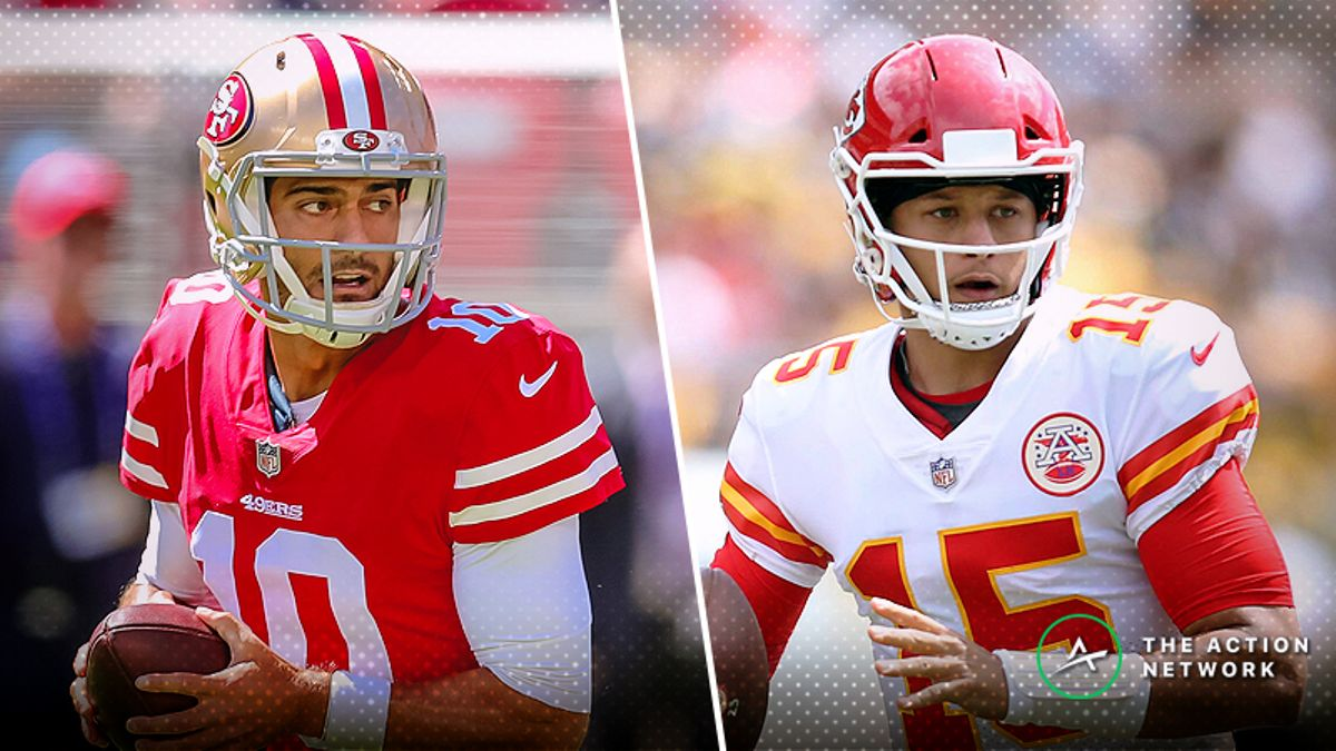 BlackJack: Why I'm Fading the Red-Hot Chiefs, More Week 3 NFL Plays article feature image