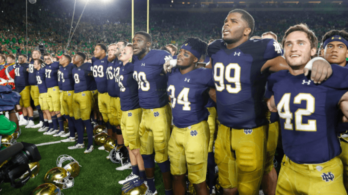 Notre Dame vs. UNC Odds & Promos: Bet $1, Win $100 if Notre Dame Scores a TD! article feature image