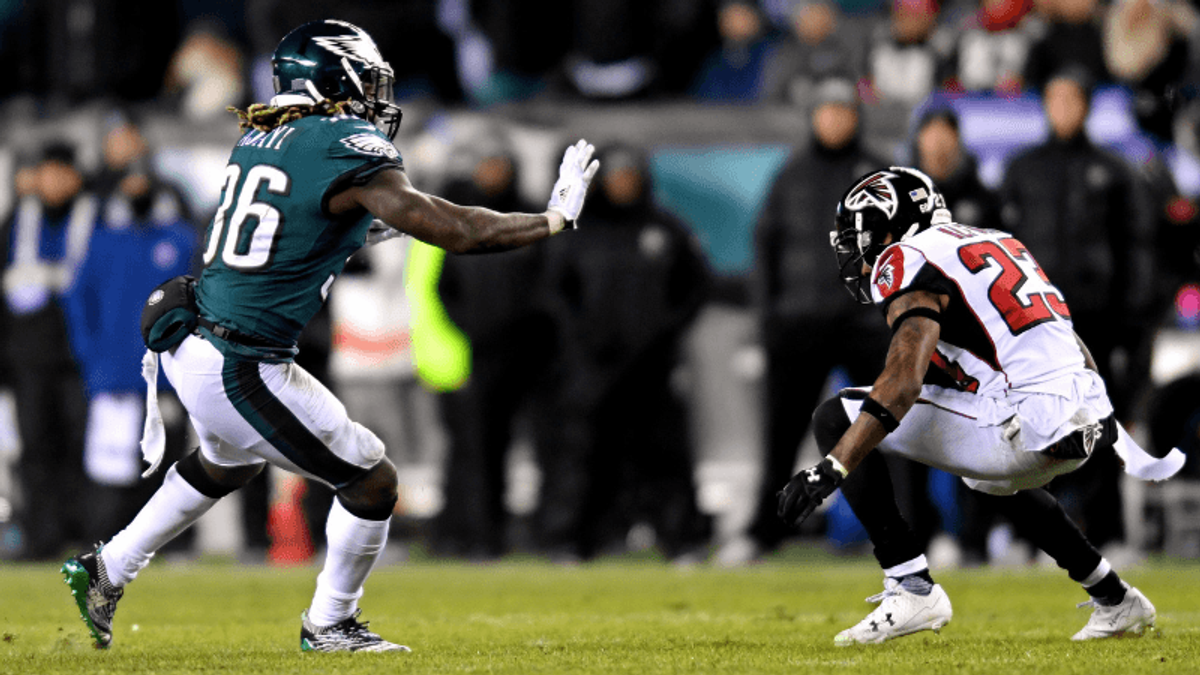 Thursday's Lead: How to Bet Falcons-Eagles article feature image