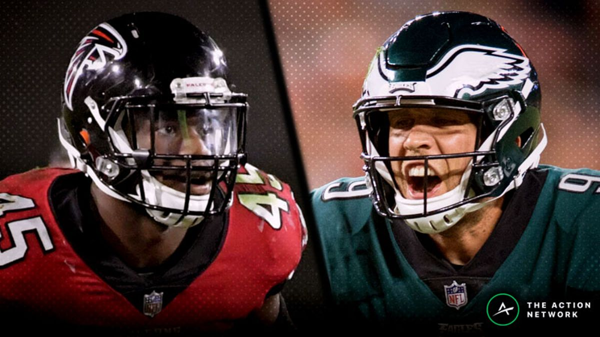 Falcons-Eagles Betting Preview: Will Atlanta Get Revenge? article feature image